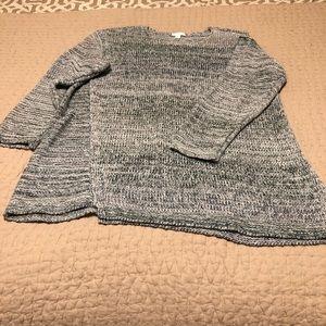 J Jill Pure Jill Cotton Blend sweater